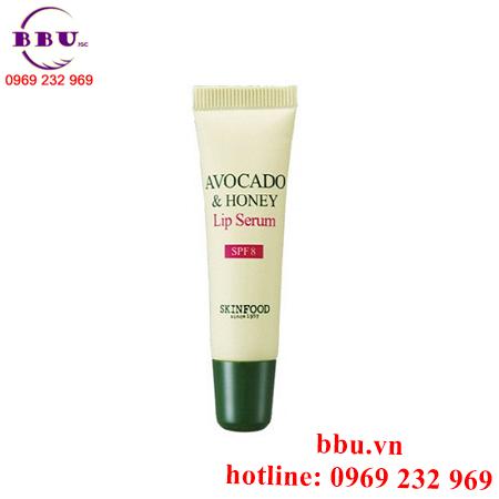 Tinh chất dưỡng môi chống nắng AVOCADO & HONEY Lip Serum SPF8