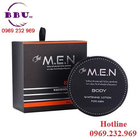 Kem dưỡng thể trắng da The M.E.N Body Whitening Lotion For Men