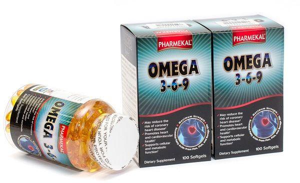 Viên Uống Dầu Cá Omega 3-6-9 PHARMEKAL văn duy phương
