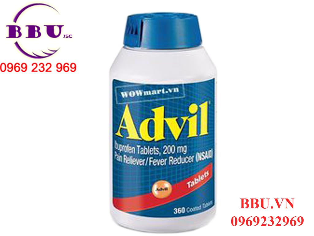 Viên uống giảm đau Advil Liqui 240V