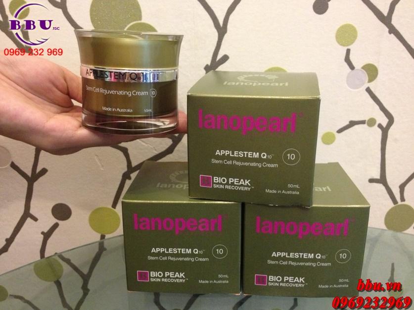 Kem chống lão hóa Lanopearl Bio Peak Applestem Q10 của Úc