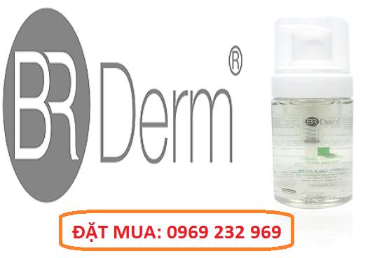 Bọt rửa mặt ngừa mụn BR Derm Facial Foam Mousse