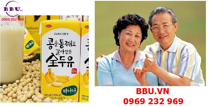 Chuyên bán sữa đậu nành vị chuối Hanmi