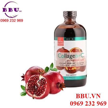 Công dụng Neocell collagen liquid dạng nước 400ml