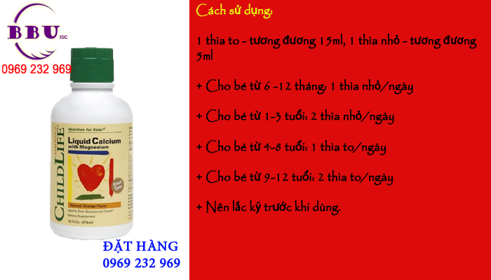 Công dụng Vitamin Childlife