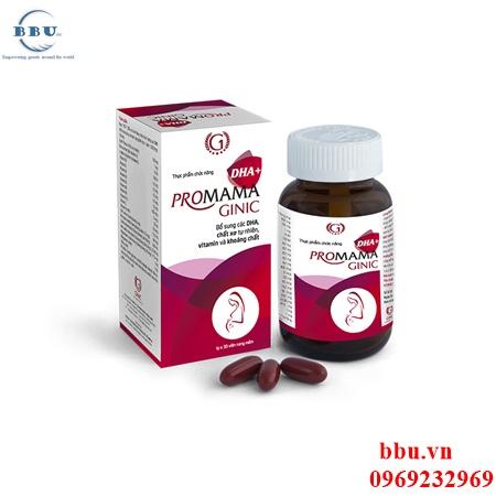 DHA Vitamin cho mẹ và bé Promama