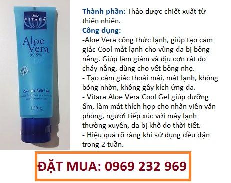 Gel dưỡng ẩm Vitara Aloe Vera Cool Gel
