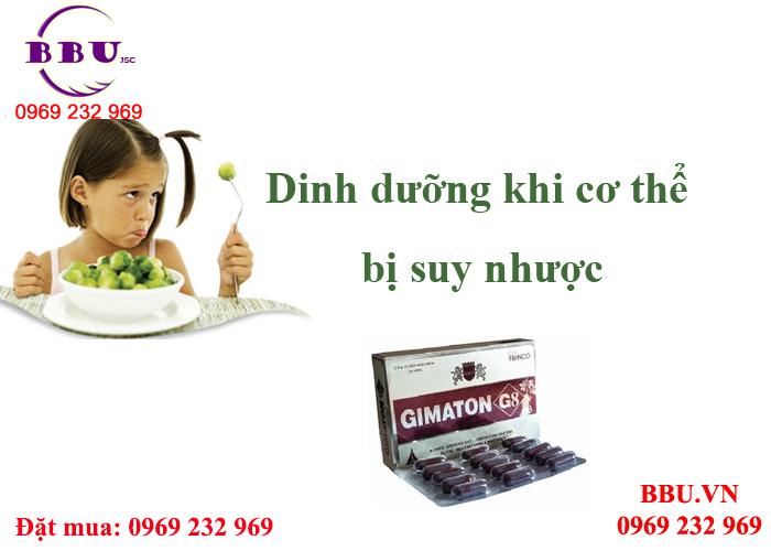 Gimaton hồi phục sức khỏe hiệu quả