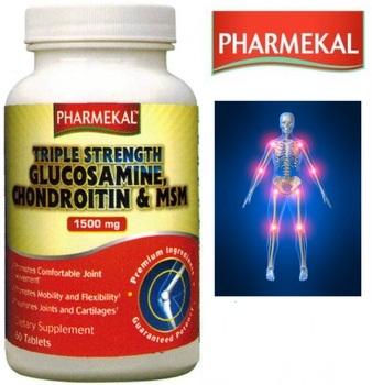 Viên Uống Phòng Ngừa Thoái Hóa Khớp 60 Viên Triple Strength Glucosamine Chondroitin & MSM