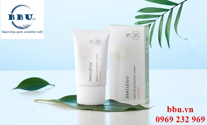 Kem Chống Nắng Daily UV Protection Cream No Sebum Hàn Quốc