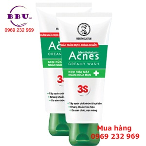 Kem sửa rửa mặt Acnes Creamy Wash