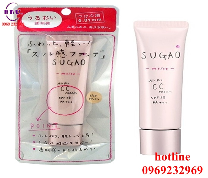Kem trang điểm CC Cream Sugao