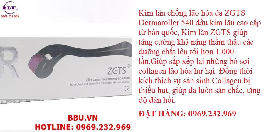 Kim lăn chống lão hóa da ZGTS Dermaroller 540