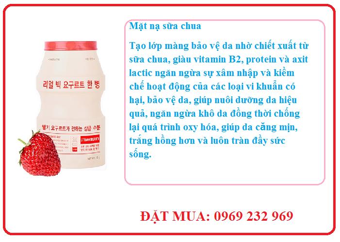 Mặt nạ sữa chua Apieu Real Big Yogurt One Bottle
