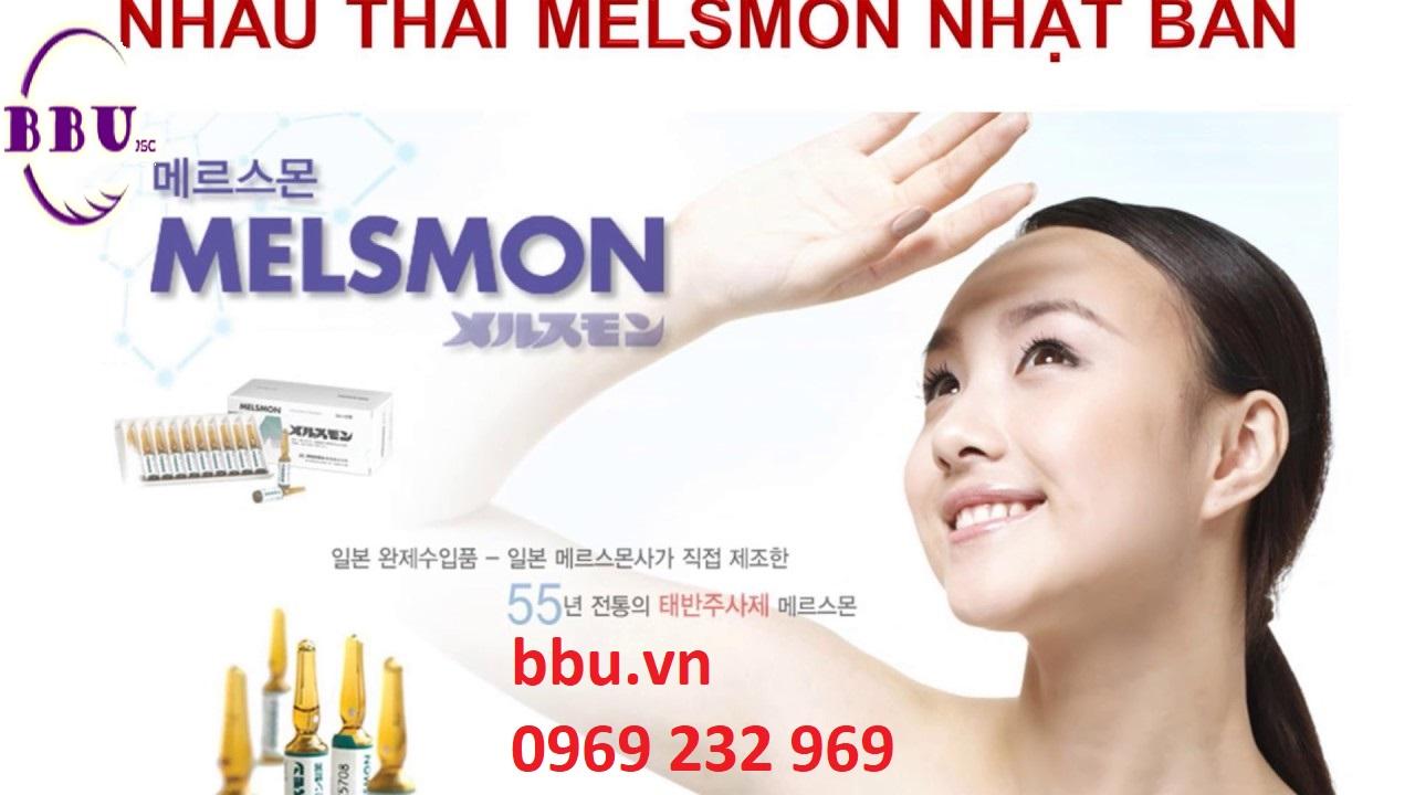 Melsmon Placenta Thuốc Tiêm Tế Bào Gốc  Nhau Thai