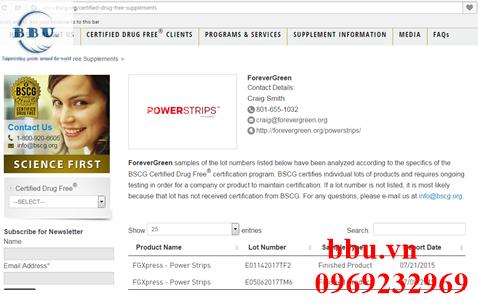 Miếng dán nhập khẩu từ mỹ Powerstrips, Beautystrips, Solar
