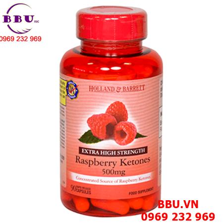 Thực phẩm chức năng hỗ trợ giảm cân puritans pride raspberry ketones