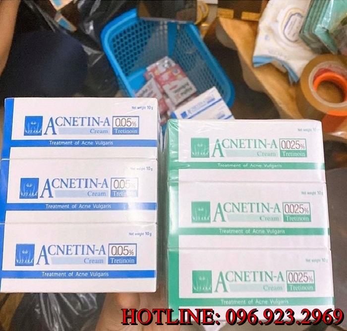 Phân phối sỉ trị mụn Acnetin - A 0.025% quận Gò Vấp
