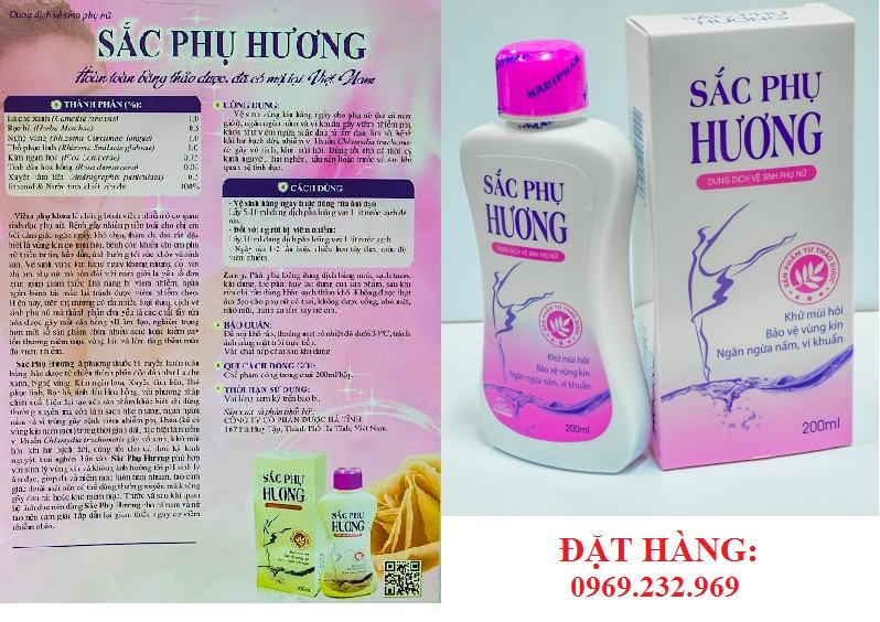 Sắc Phụ Hương dung dịch vệ sinh phụ nữ