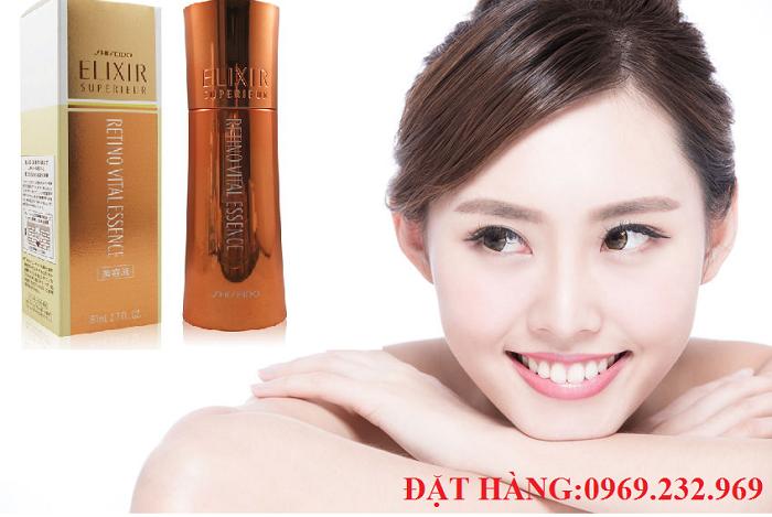Serum dưỡng da chống lão hóa Shiseido Elixir Superieur Retino Vital Essencecủa Nhật Bản