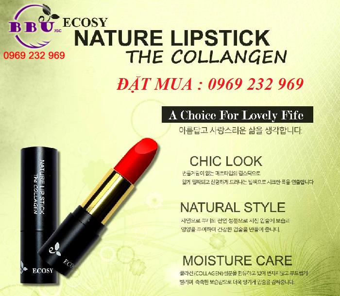 Son lì Collagen Ecosy Hàn Quốc chính hãng