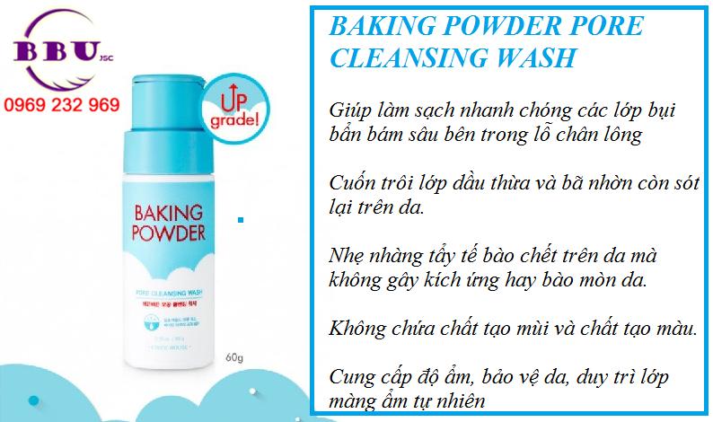 Sữa Rửa Mặt Etude House Baking Powder Pore Cleansing Wash