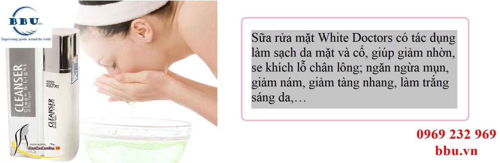 Sữa Rửa Mặt Ngăn Ngừa Mụn White Doctors