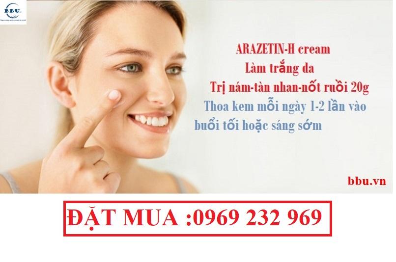 Tại sao phải trị nám và tàn nhang với Azaretin-H cream Ấn Độ