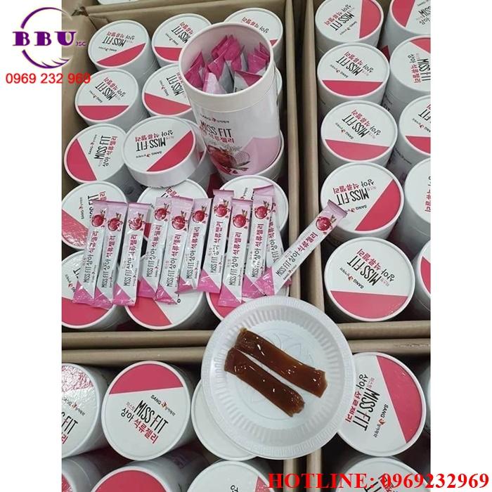 Thạch lựu Collagen Sanga Hàn Quốc  Chính Hãng
