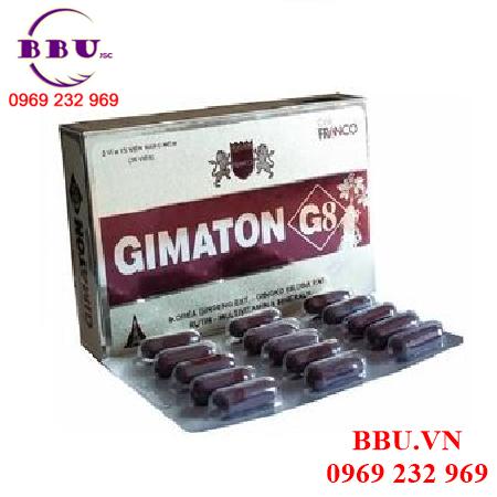 Thành phần Gimaton hồi phục sức khỏe
