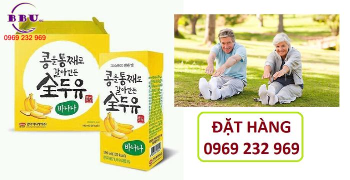 Thành phần của sữa đậu nành vị chuối Hanmi