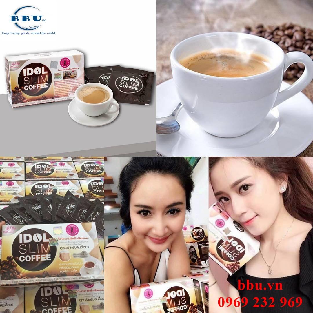 Thật dễ dàng để giảm cân hiệu quả cùng với Idol Slim Coffee