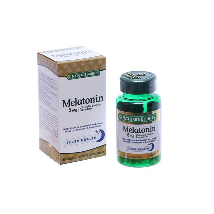 Thuốc Điều Hòa Giấc Ngủ - Super Strength Melatonin 5 mg
