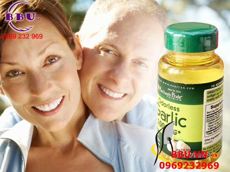 Tinh Dầu Tỏi 1000 mg - Garlic Oil 1000 mg