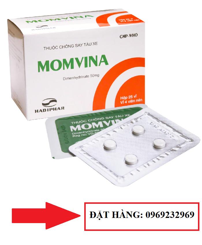 Thuốc chống buồn nôn MOMVINA