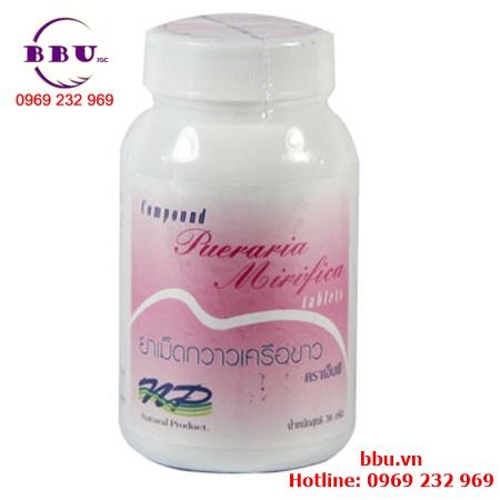 Viên uống nở ngực pueraria mirifica yanhee Thái Lan
