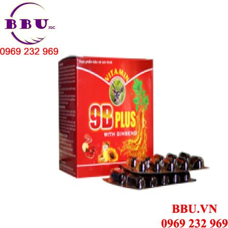 Vitamin 9B Plus hồi phục sức khỏe
