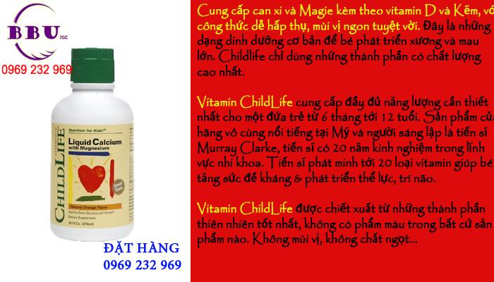 Vitamin cho trẻ