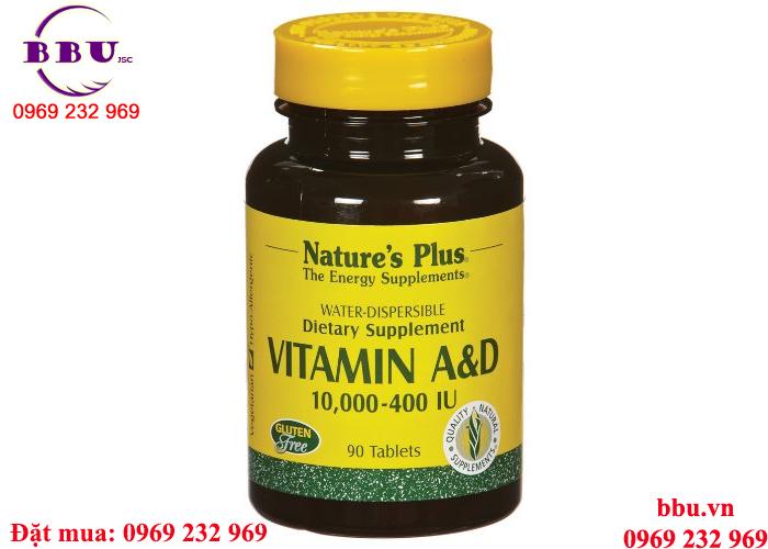 Vitamins A và D 10, 000/400 IU tăng cân tăng cơ