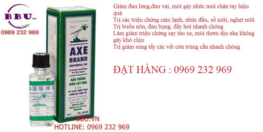 Dầu gió trắng Axe Brand Universal Oil