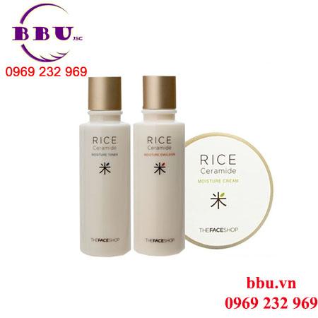 Bộ dưỡng da gạo Rice Ceramide Moisture Giá:420,000