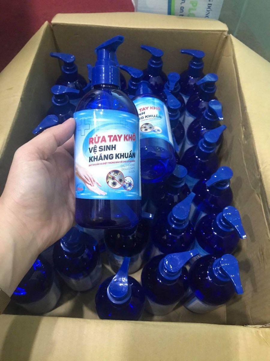Bỏ sỉ gel rửa tay khô kháng khuẩn