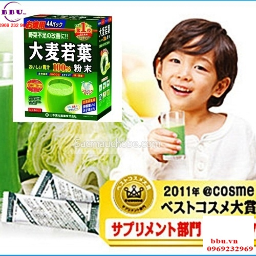 Bột lúa mạch GRASS BARLEY Nhật Bản nguyên chất 100%