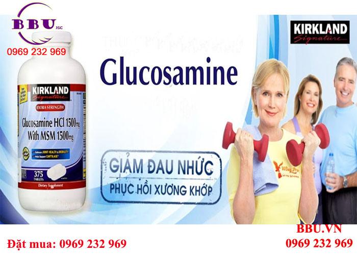 Chuyên cung cấp Glucosamine HCl 1500mg 375 viên