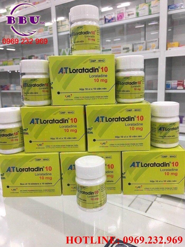Cung cấp Thuốc A.T Loratadin 10