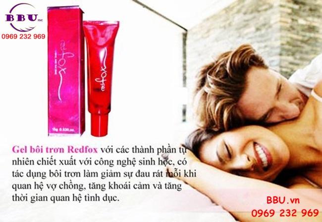 Gel bôi trơn L-Anginine RedFox Hàn Quốc Làm hồng âm đạo