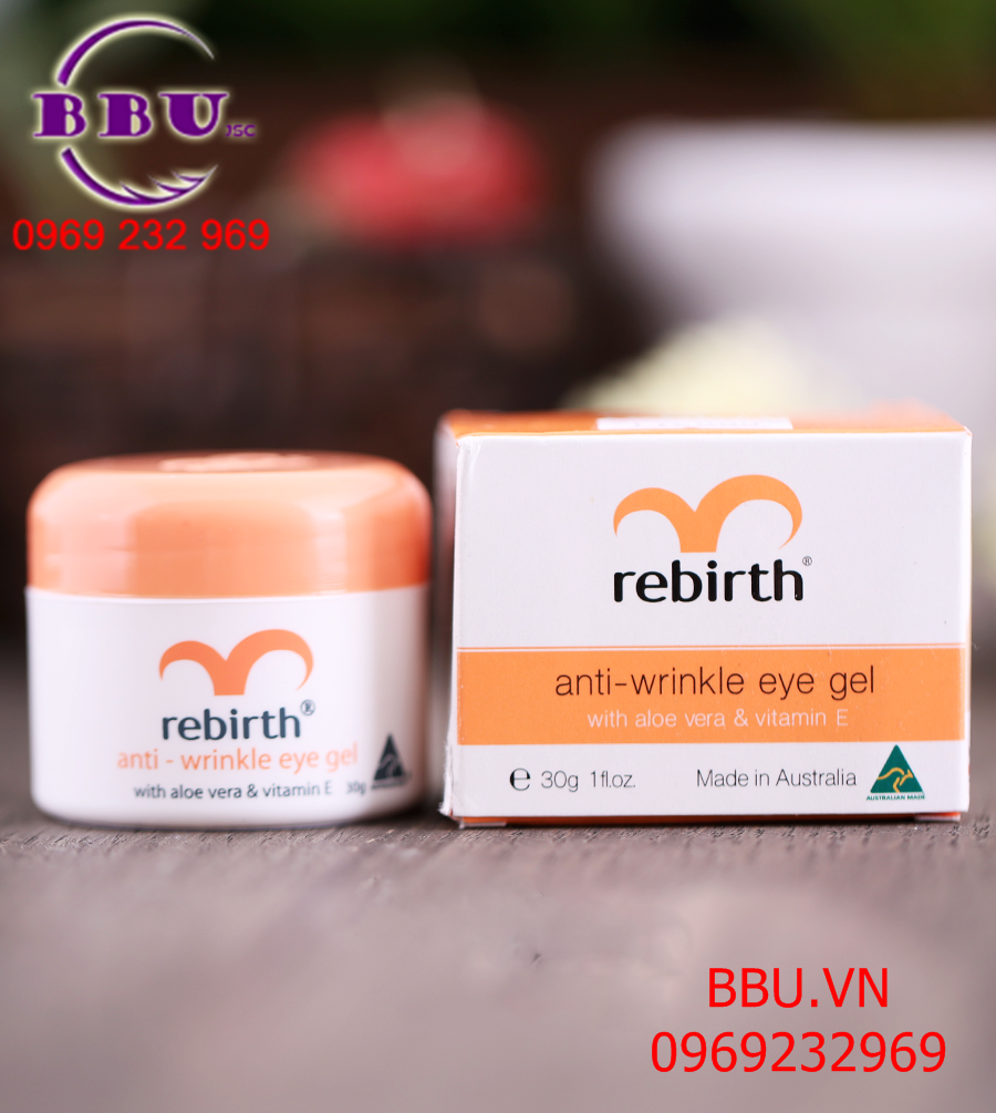 Gel Rebirth dưỡng chống nhăn, chống quầng mắt 30g