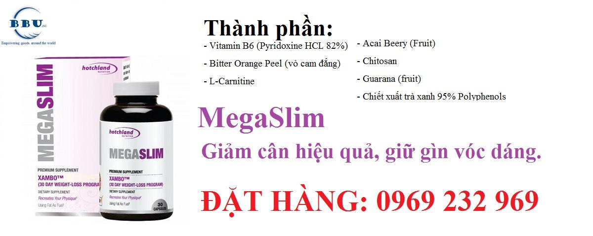 Mua bán thuốc giảm cân MegaSlim tại TP HCM
