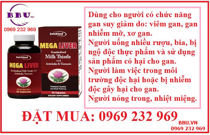 Giải độc gan Mega Liver