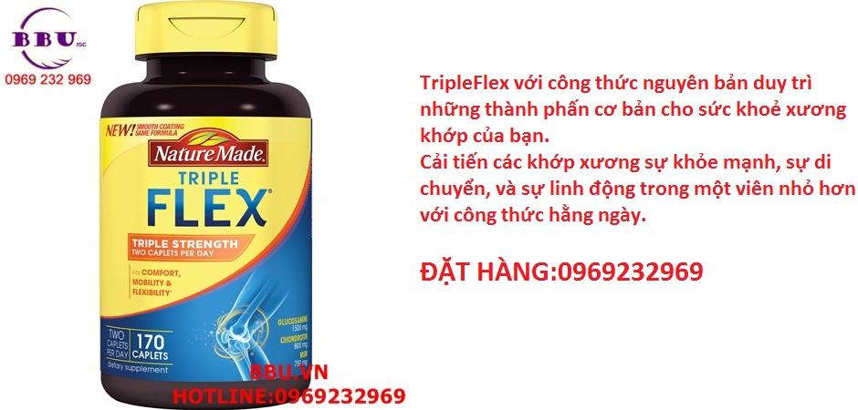 Hỗ trợ điều trị khớp - Triple Flex Nature Made